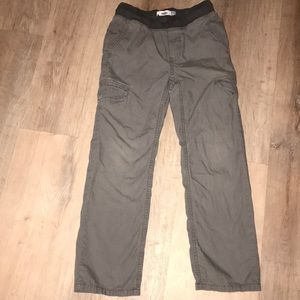 Boys Old Navy Pull On Pants Gray Size 8
